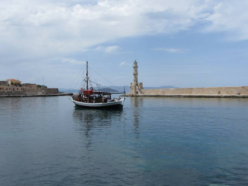 Port Wenecki w Chania